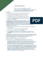 Estructura Del Análisis de Mercado