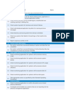 GFI the Network Security Checklist