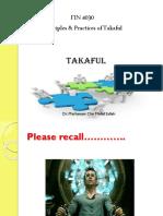 Fin 4030 Takaful