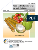 Major Non-food and Industrial Crops Quarterly Bulletin, April-June 2018_0