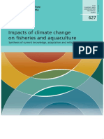 Impacts of climate change on fisheries and aquaculture FAO