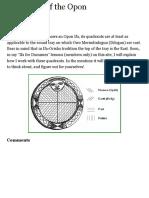 Quadrants of the Opon