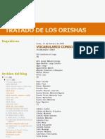 Tratado de Los Orishas