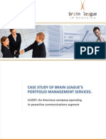 Pd Brain League CaseStudy Nov09 Version2