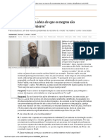 """""""No Brasil, temos a ideia de que os negros são inerentemente inferiores"""" (entrevista com Adilson José Moreira)"""