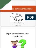 Aprendiendo a Resolver Conflictos