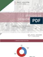 Raúl Aragón & Asoc. - Panorama nacional electoral marzo 2019