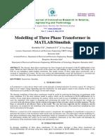 Power Transformer Modelling