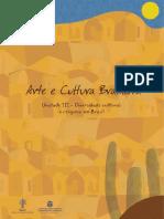 Arte e Cultura Brasileira - Unidade 3 - Atualizado