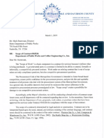 Leter to Sturtevant Re Scope of Paving Contract