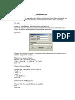 Práctica Visual Basic 2