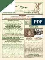 Upland Plover January-February 2019