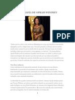 Biografia de Oprah Winfrey