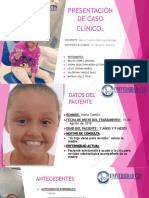 Caso Clinico de Maria Camila