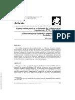---- (El Programa de Prácticas en Psicología Del Trabajo y de Las Organizaci...)