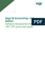 Sage 50 .NET API - Quick Start Guide