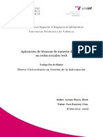 ASENSIO - Apliación de Técnicas de Minería de Datos en Redes Sociales