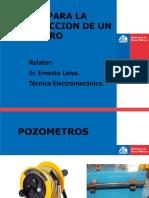 MANUAL PARA LA CONSTRUCCION DE UN POZOMETRO