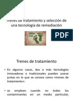 Trenes de Tratamiento y Selección de Una Tecnología