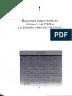 Unidad 1. Relaciones Entre El Derecho Internacional Publico y El Derecho Internacional Privado Contreras Vaca