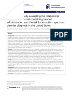 A two-phase study evaluating the relationship between Thimerosal-containing vaccine administration and the risk for an autism spectrum disorder diagnosis in the United States.pdf