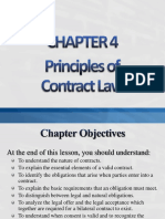 Chapter 4 Principles of Contract Law (Student Slides)