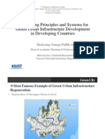Engineering Principles and Systems for Green Urban Infrastructure Development in Developing Countries