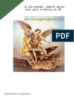 Livro Devocionario de Sao Miguel Arcanjo Milicia a1