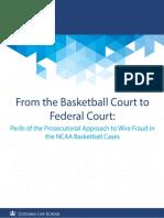 NCAA Wire Fraud