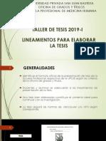 Lineamientos Para Elaborar La Tesis - Grados y Titulos Upsjb (1)