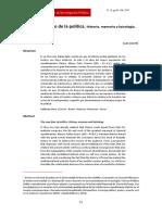 El tiempo propio de la política. Historia, memoria y kairología - Juan Acerbi