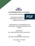 Tesis de Maestria en Salud Publica Dr. Jorge Garcia Maldonado