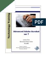 Advanced Adobe Acrobat Ver 7 User Manual