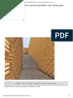 Polónia Constrói Pavilhão Com Caixas Para Fruta _ EngenhariaCivil