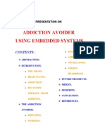 Addiction Avoider Using Embedded Systems1