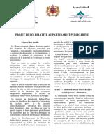 Projet Loi PPP Fr