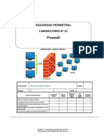 Lab 01 - Firewall