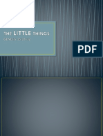 The Little Things.pptx