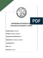 Historia Medieval (Botalla) - 2c 2018