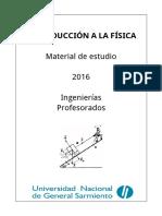 Material Introduccion a la Fisica - UNGS -