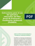 Aplicativo Para Registrar PLANEFA