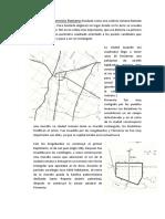 Plano de La Florencia Romana