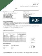 Ams1117 Data Sheet