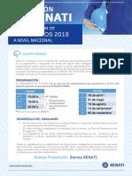 Programación de Simulacros 2019 a Nivel Nacional
