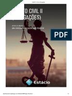 APOSTILA    DIREITO CIVIL II (Obrigações) 2016 Estácio.pdf