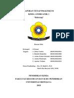 Laporan Tetap Kimanor 5 (Belerang)