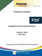 Programa de Gobierno Mendy Final
