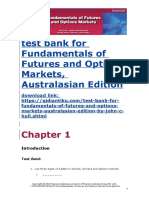 Fundamentals of Futures and Options Markets, Australasian Edition test bank