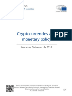 Cryptocurrencies and Monetary Policy