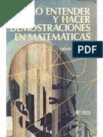Cómo entender y hacer demostraciones en matemáticas - Daniel Solow-MiBibliotecaVirtual.pdf